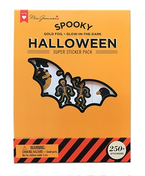 SPOOKY HALLOWEEN SUPER STICKER PACK
