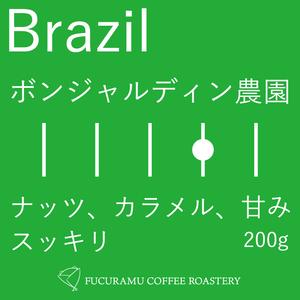 ブラジル ブルボンアマレロ パルプドナチュラル ボンジャルディン農園【フルシティ】