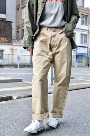【ORDINARY FITS】NEW FARMERS 5P CHINO/OF-P064
