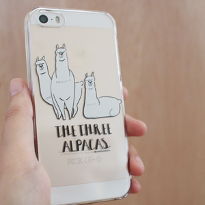THE THREE ALPACAS / iphone5 5s SE /6 6s/7ケース
