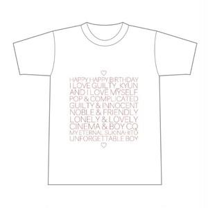 ユッキュン生誕Tシャツ2019 赤