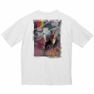 ビッグシルエットTシャツ・ホワイト(FRESH)