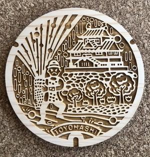 WoodyManholeCoasterⓇ愛知県 豊橋市 手筒花火と吉田城