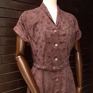 Vintage short sleeve dress ヴィンテージ半袖ワンピース