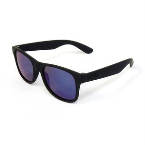 DANG SHADES LOCO RAISED Black Soft x Blue Mirror Polarized(偏光レンズ)