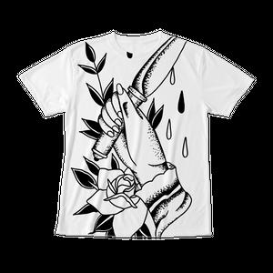 フルグラフィックTシャツ TRAD DAGGER ホワイト