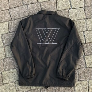 W logo Coach jacket 【Black】