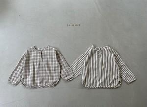 【予約販売】buddy shirt〈La.camel〉