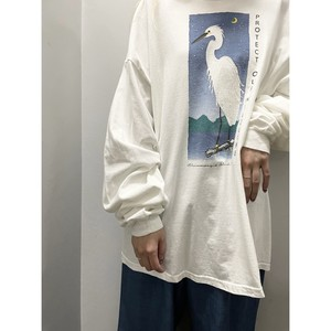 """90's """"PROTECT OUR WILDLIFE"""" L/S Tシャツ"""