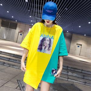 【期間限定の新品 500円減ります】【トップス】プリントアルファベットファッションTシャツ19555010