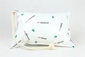 Pillow Bag (plumpillow purse)【Beach】まくら×ポーチ アウトドア
