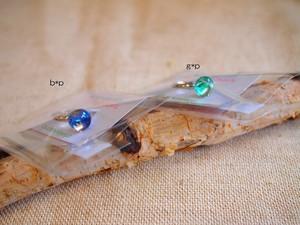針金細工ateliersaono 大野さをり fusing glass ring (サークル2種)