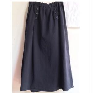 【 NORTHERN TRUCK 】綿コットン マリンギャザースカート ネイビー Mサイズ【ノーザントラック】