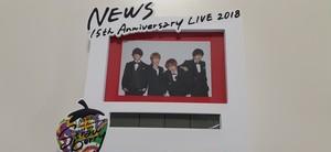 NEWS   15th Anniversary LIVE 2018   Strawberry  Clock  (時計)