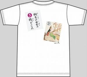 【キッズ】上毛かるた×KING OF JMKオリジナルTシャツ【白・き】
