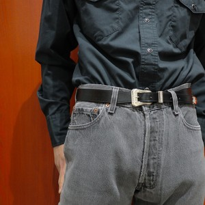 The Letters TWISTED WESTERN 3 PIECE BELT