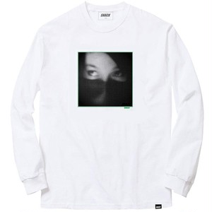 SNACK / GYPSY EYES L/S TEE / WHITE / S
