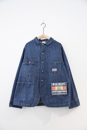 【BIG MAC × ORDINARY FITS】DENIM COVERALL USED