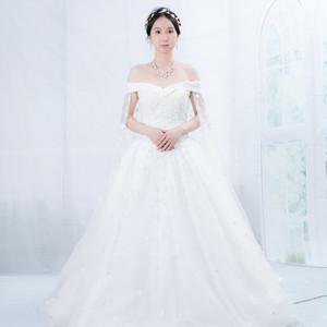プリンセスライン ウェディングドレス WD0581