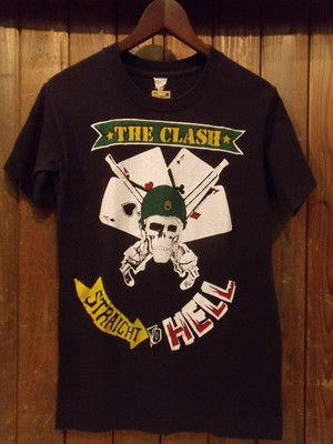 Vintage★80's【THE CLASH】<STRAIGHT TO HELL>Tee