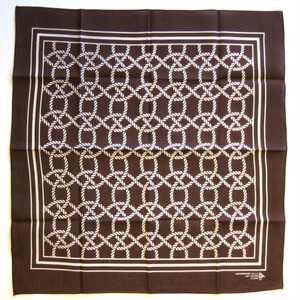 "FxCHRS Original Bandana ""Nautilus"",brown"
