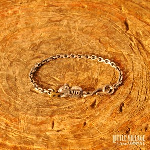 """Mouse & Cheese"" Anklet / Bracelet ""M"" 18K"