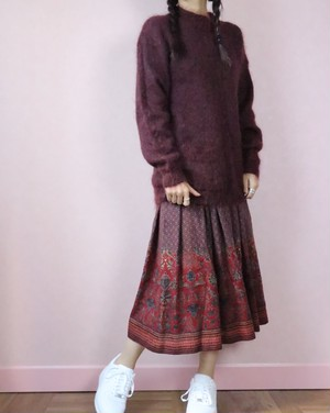 80's Cacharel skirt