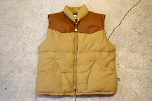 USED 80s Pacific trail Down vest V0658
