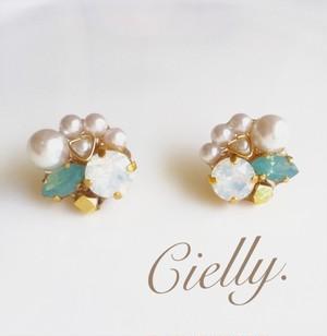 Crystal pearl (white opal)