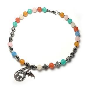 SAD44mg「 Dragon Colorful 」Handmade Necklace