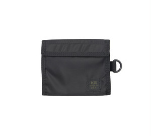 MIS-1034 FOLDING WALLET Packcloth_BLACK