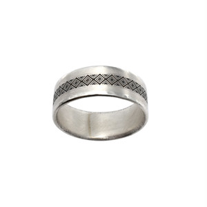 b-rogo engraving paper Ring