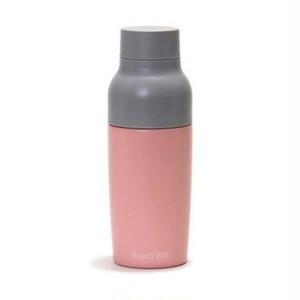 Reachwill魔法瓶  vaseステンレス製真空マグボトル 380ml ピンク