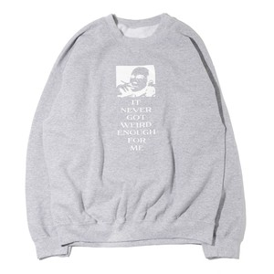 "user65336755 ""This is HUNTER S. THOMPSON INGWEFM"" CREWNECK SWEAT SH(GRAY)"