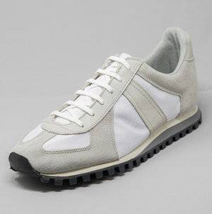 GERMAN TRAINER MARATHON <WHITE/BEIGE>