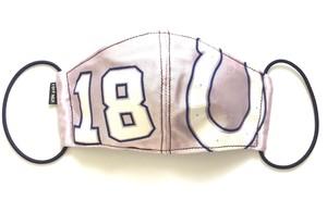【デザイナーズマスク 吸水速乾COOLMAX使用 日本製】NFL SPORTS MIX MASK CTMR 1006028