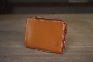 tenohira purse (CAMEL×AZUKI)