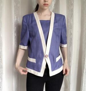 retro Jacket Violet color
