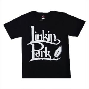 ROCK T-SHIRT 【 Linkin Park リンキン パーク ロゴ】
