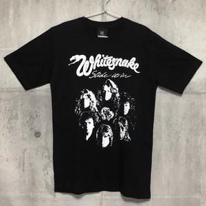 【送料無料 / ロック バンド Tシャツ】 WHITESNAKE / Men's T-shirts M ホワイトスネイク / メンズ Tシャツ M