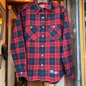 Bo Sport × CAMCO Heavy Retro Flannnel Shirt(Red)