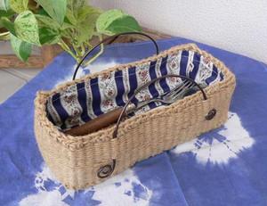 エコおりりん習熟コース【6】輪織りで楽しむ、カトラリーケースキット