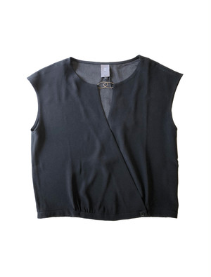 JALAN BLOUSE BLACK / ANNE WILLI