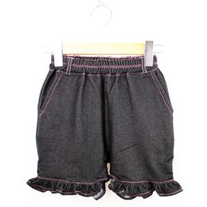 MEI KIDS KNIT DENIM SHORT PANTS(メイ キッズ デニムショートパンツ) KME-000-166018
