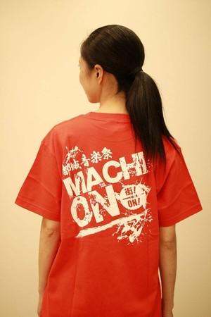 まちおんTシャツ赤(残りはLサイズ1枚のみ!)
