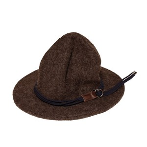 Enharmonic TAVERN x CA4LA Cord Belt Sliver knit Hat -brown <LSD-AH3AC1>