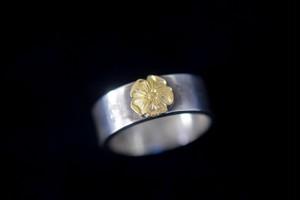 Love 18k rose ring