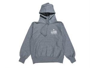 1/16[土]再販 【STAR logo hoodie】 /gray