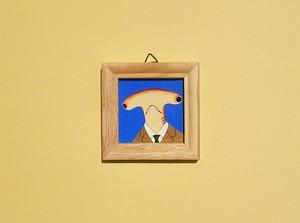 シュモクンの肖像 ミニ額絵
