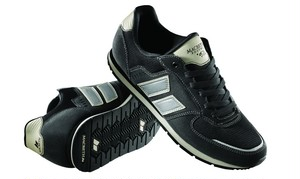 【MACBETH スニーカー】FISCHER Black/Cement
